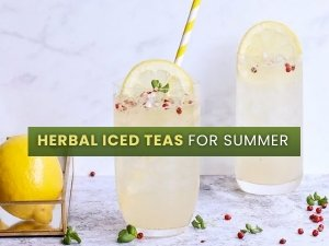 Healthy And Cooling Herbal Iced Teas For Summer With Recipes