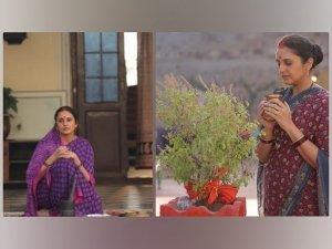 Huma Qureshi Unveils New Looks In Sarees As Rani Bharti Of Maharani
