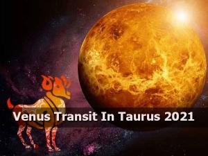 Effects Of Venus Transit In Taurus