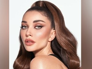 Amy Jackson Looks Like A Real Life Barbie In Her Glam Makeup Look And Cute Hairdo