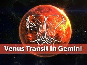 Venus Transit In Gemini