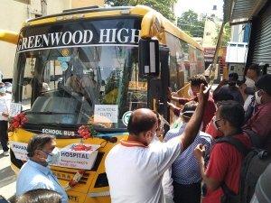Free Oxygen On Wheels Life Saving Initiative Of Maharaja Agrasen Hospital