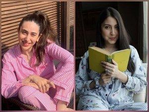 Karisma Kapoor And Anushka Sharma In Pyjama Sets On Instagram
