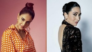 Genelia Deshmukh Karisma Kapoor And Other Divas In Their Patterned Outfits