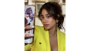 Janhvi Kapoor In An All Yellow Outfit On Instagram