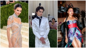 Naomi Osaka Billie Eilish Timoth E Chalamet And Others Leave Us Speechless At Met Gala 2021