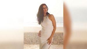 Katrina Kaif In A White Dress For Sooryanvanshi Promotions