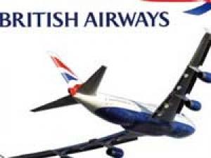 British Airways Beef Menu