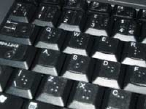 Braille Keyboard Disabled People