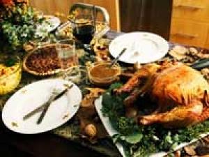 Paris Hilton Heidi Klum Thanksgiving