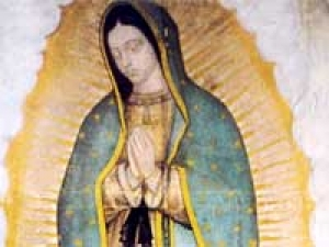 Hillary Clinton Lady Guadalupe Mexico