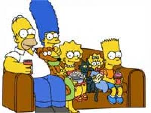 Simpsons Fan Spends Memorabilia