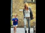 Kate Moss Modelling Lila Grace