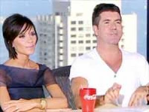 Simon Cowell Victoria Beckham Us X Factor