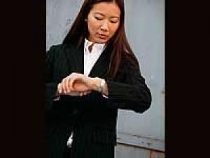 Text Messages Wrist Watch