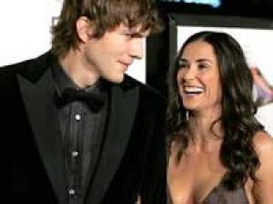 Ashton Kutcher Bruce Willis Demi Moore