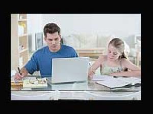 Telecommuters Balance Work Family
