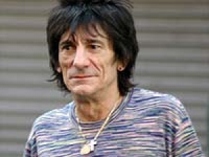 Ronnie Wood Painting Talent