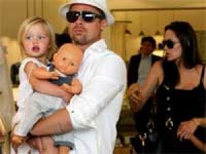 Angelina Jolie Brad Pitt Africa