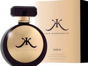 Kim Kardashian Fragrance Gold 110511 Aid