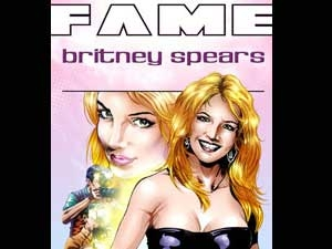 Fame Britney Spears Comic Book 120511 Aid