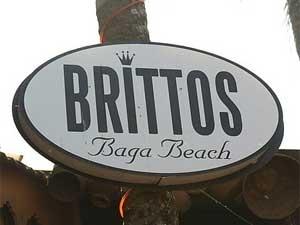 Brittos Beach Restaurant Goa 210611 Aid