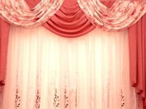 Winter Curtain Design Material