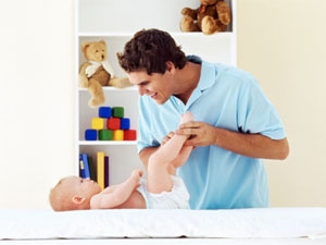 Baby Diaper Changing