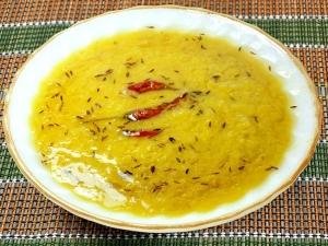 Dal Tadka Toor Dal Recipe