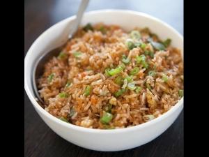 Chilli Garlic Fried Rice Recipe