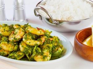 Prawns Green Chilli Curry