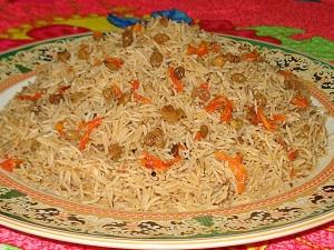 Ghee Rice Malabar Style