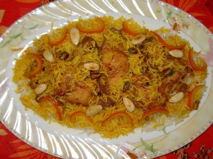 Afghani Zarda Pulao Recipe