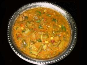 Toor Dal Sabji With Palak