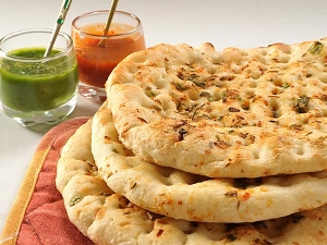 Paneer Kulcha Stuffed Indian Bread
