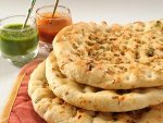 Paneer Kulcha Stuffed Indian Bread