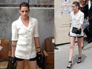 Kristen Stewart At Chanel 2013 Paris Show