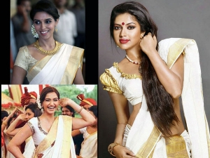Hairstyles To Try With Kerala Saree