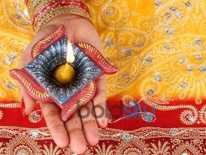 Olourful Diyas Diwali Decoration