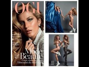 Gisele Bundchen Poses Nude Vogue