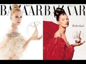 Nicole Poses Kate Harpers Bazaar