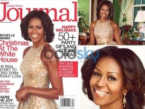 Michelle Obama Journal Magazine December