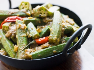 Bhindi With Besan Recipe
