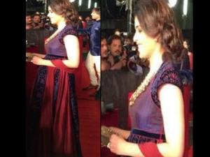 Zee Cine Awards 2014 Pregnant Genelia Dsouza
