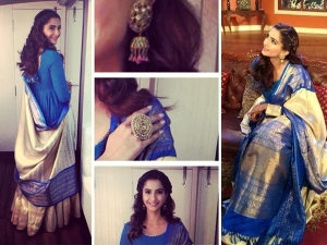 Sonam Kapoor Lehenga Comedy Nights With Kapil