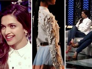Deepika Padukone Styles In Archana Rao