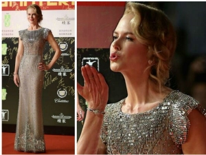 Nicole Kidman In Nude Dolce And Gabbana Gown At Shanghai Film Festival