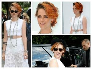 Kristen Stewart Haircut Hair Paris Fashion Week