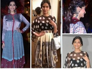 Sonam Kapoor In Two Dresses