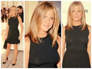 Jennifer Aniston Shows Nips In Style At Toronto Film Festival